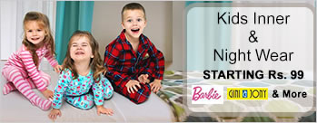 Kids Inner Wear & Nightwear Starting at Rs.99
