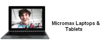 Micromax Laptops and Tablets