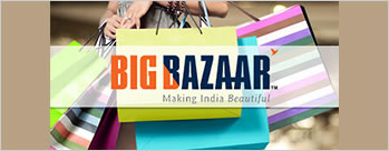 10% Cashback on paying with MobiKwik Wallet at Big Bazaar + Extra 1% Cashback