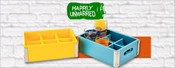 5% Cashback on Paying with MobiKwik Wallet at Happily Unmarried + Extra 1% Cashback