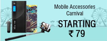Mobile Accessories Carnival - Moblie Accessories Starting at Rs.79