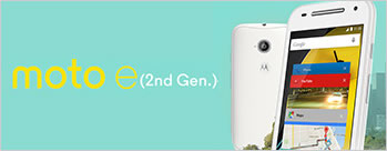 Moto E 2nd Generation (8GB) at Rs 5999 Only