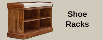Upto 55% OFF on Shoe Racks + Extra 4% Cashback