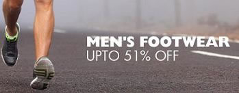 Upto 51% OFF on Mens Footwear