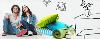 Upto 75% OFF on Home Furnishing + Extra 0.5% Cashback
