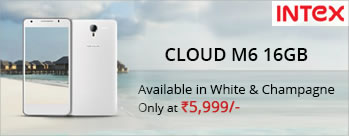 Intex Cloud M6 16 GB at Rs 5999 Only