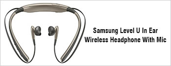 Samsung Level U In Ear Wireless Headphone With Mic at  Rs 2999 Only