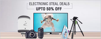Electronics Steal Deals - Upto 50% OFF on Electronics