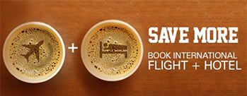 Rs 5000 OFF per person on International Flight plus Hotel + Extra Rs 200 Cashback